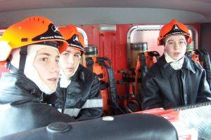 Devenez jeune sapeur-pompier